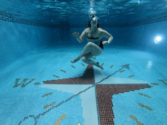 Sacha Underwater